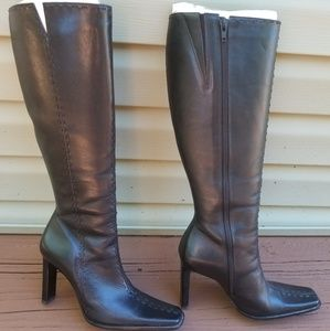 Dina leather tall Boots